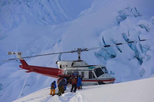 Extreme ski & Heliski zone