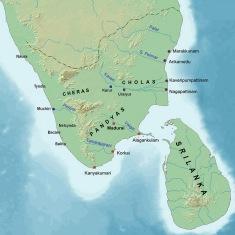 Ancient Tamilakam ports - Sangam period